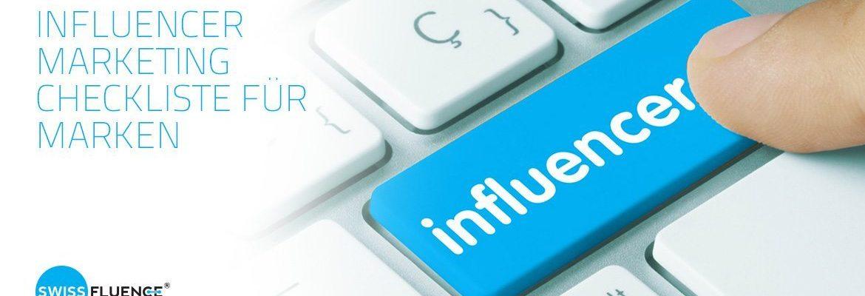Influencer Marketing Checkliste für Marken