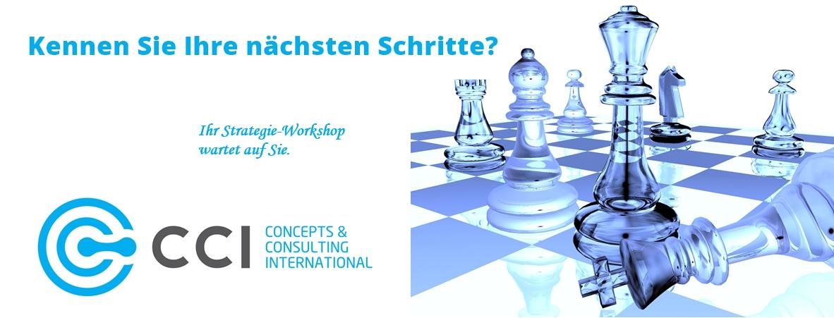 Bei CCI Ltd. wartet Ihr Strategie-Wokshop auf Sie